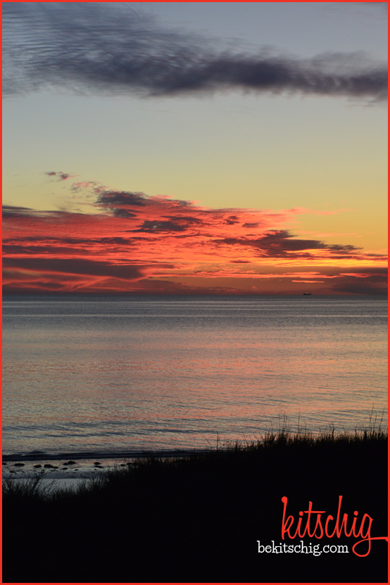 Sunset in Semaphore, Australia