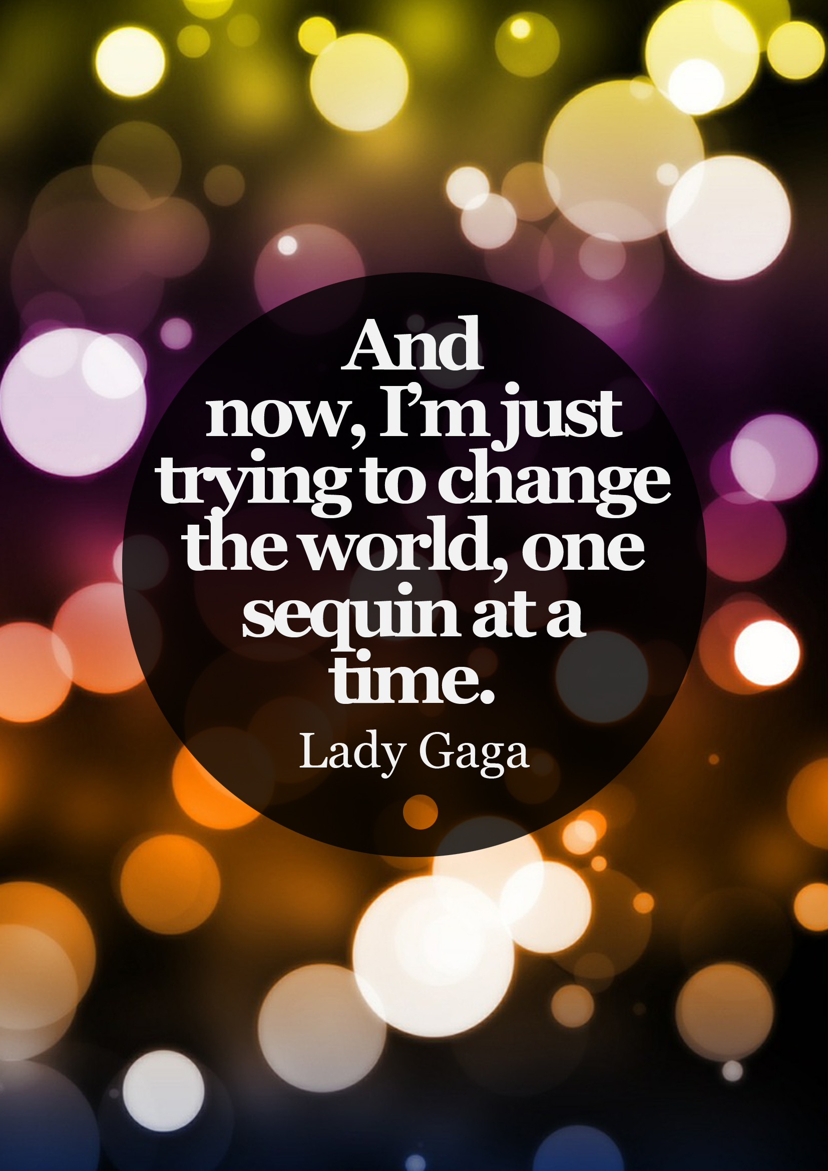 #quote #Lady Gaga