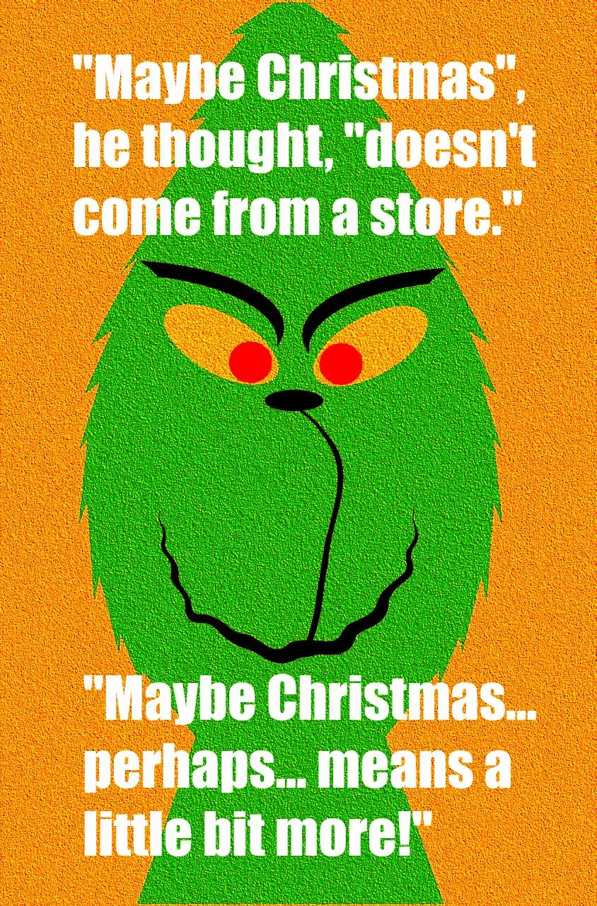 #Christmas #Grinch