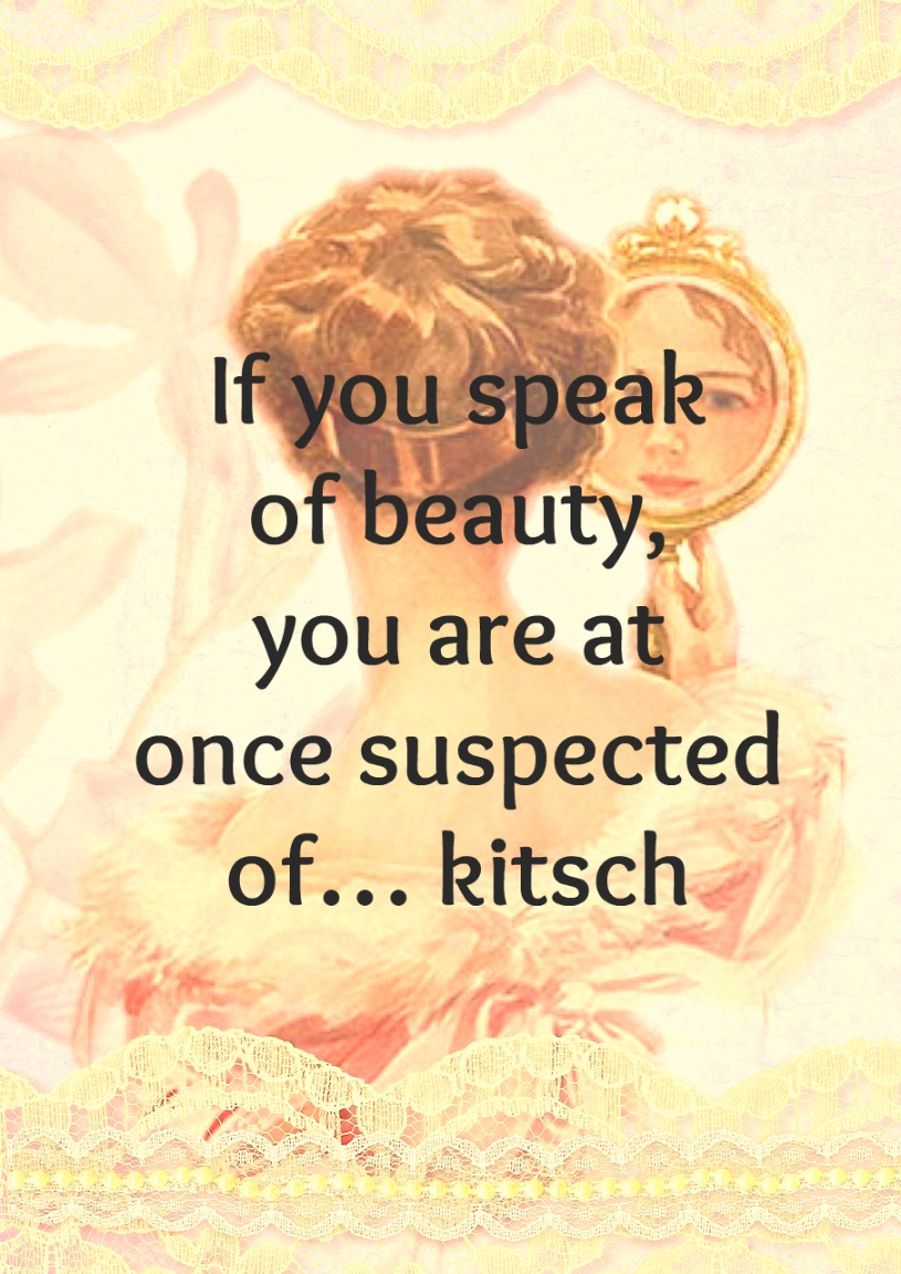 #Quote #kitsch #balthus