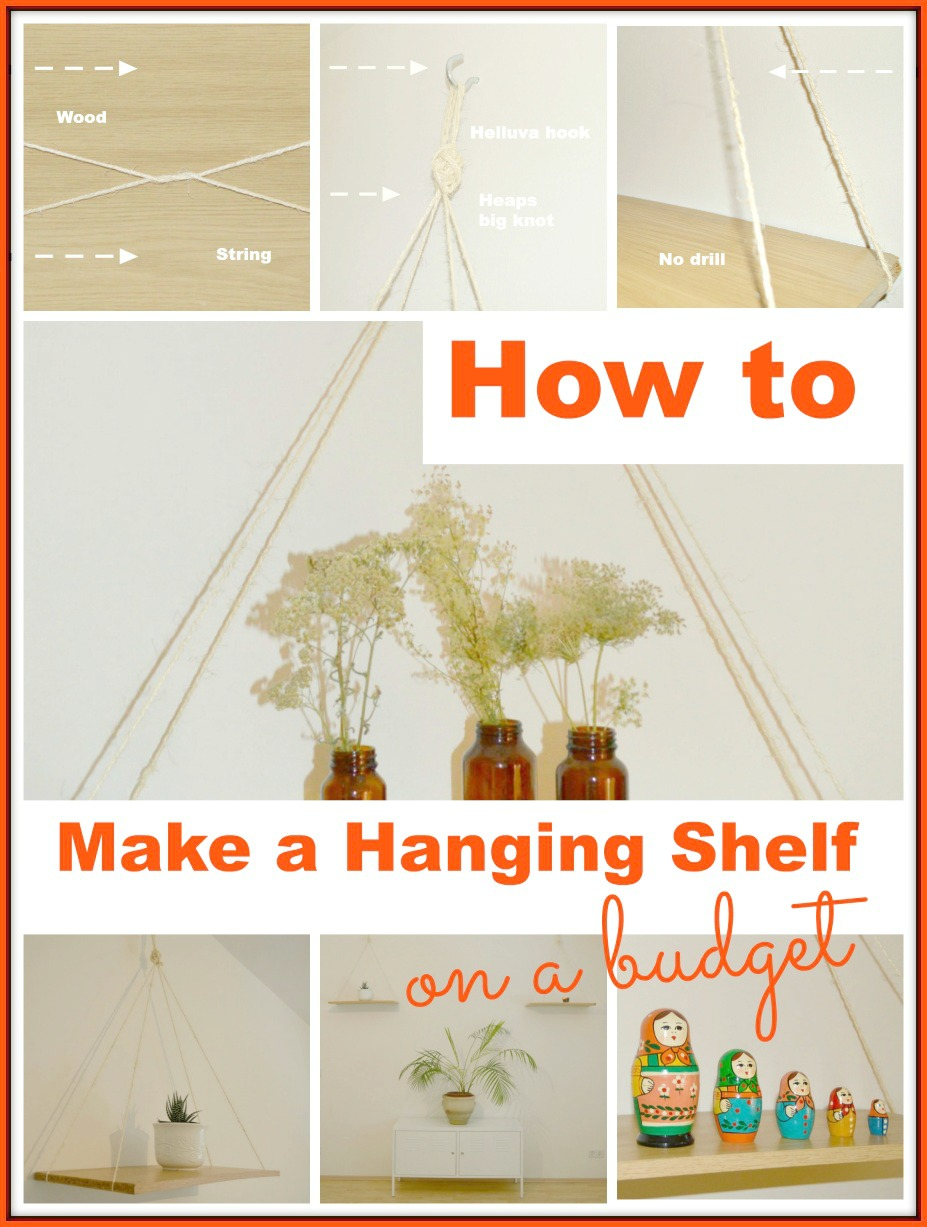#DIY #shelf