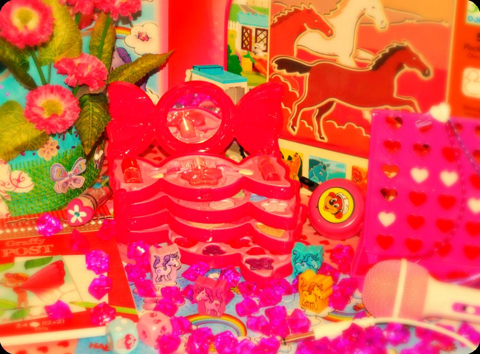 #pink #still life #kitsch
