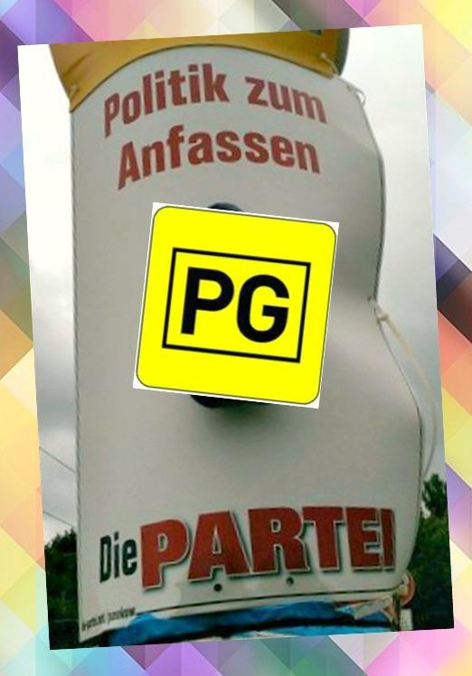 Kitsch Wahl Werbung Die Partei Berlin