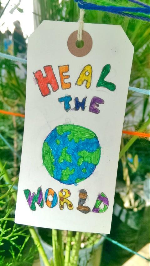 Blog be kitschig heal the world