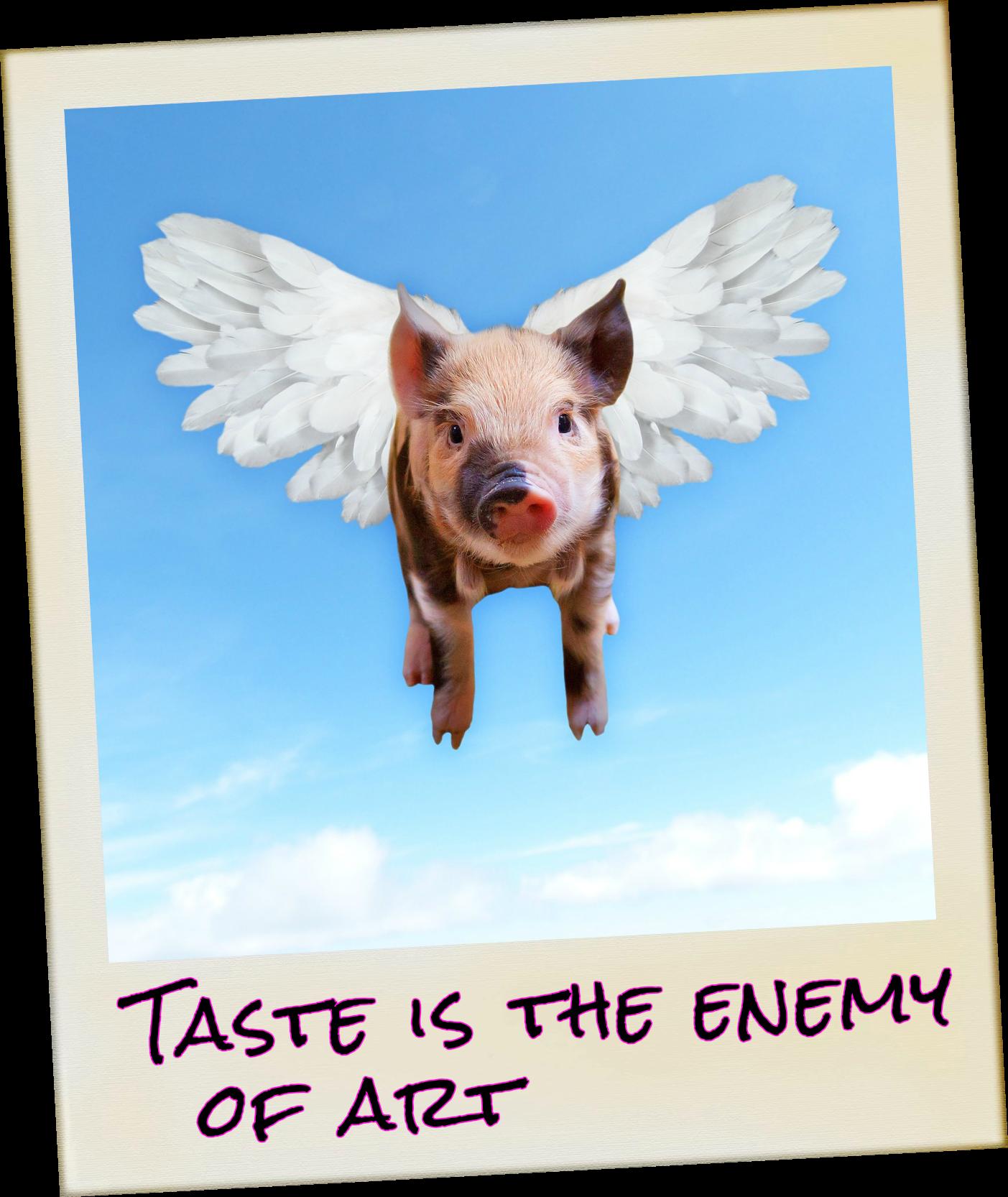 be kitschig blog quote John waters #taste #kitschig #kitsh