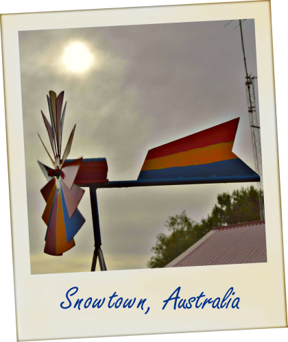 Sad country town Snowtown South Australia