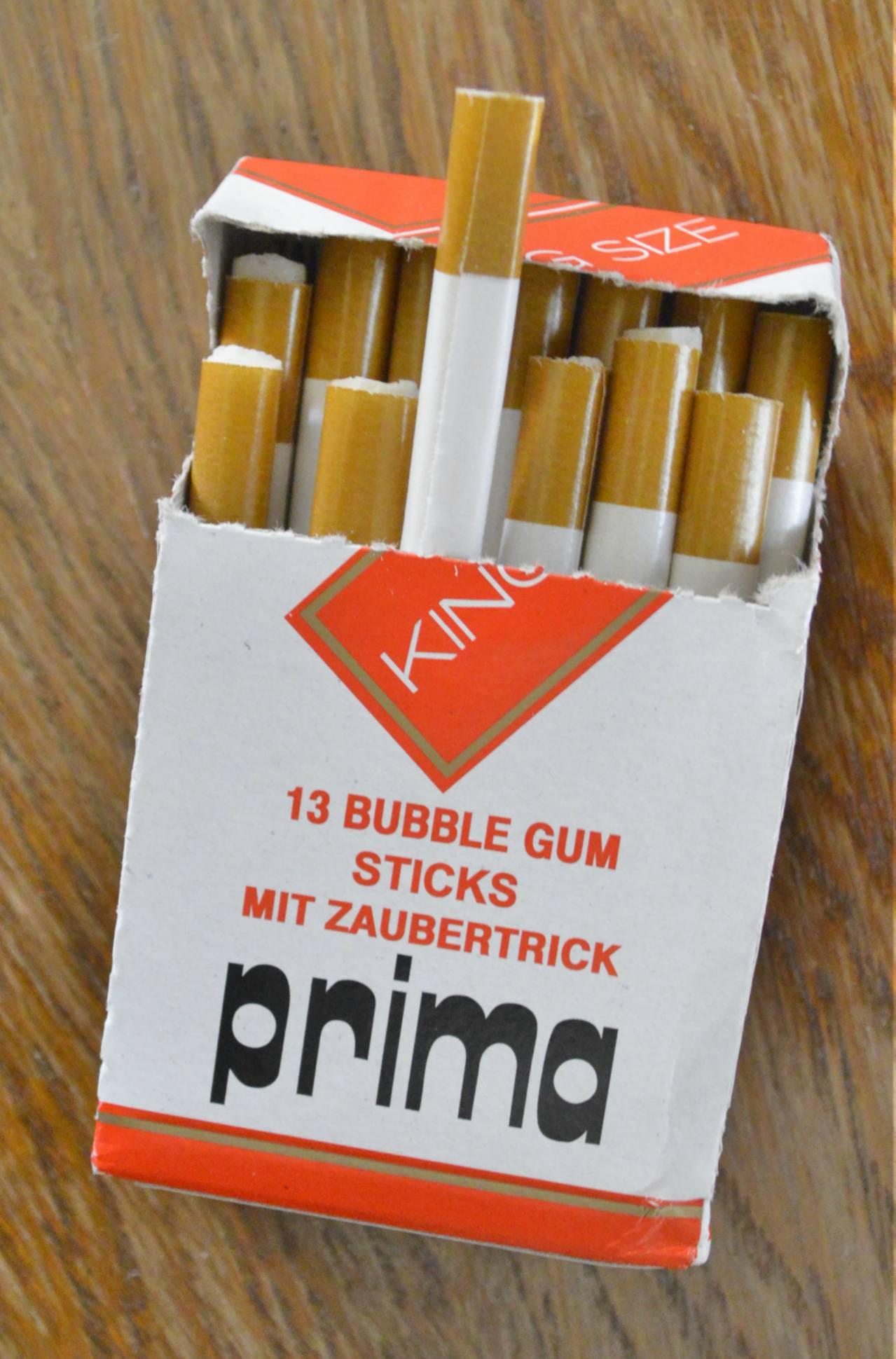 Kaugummi Zigaretten fuer Kinder