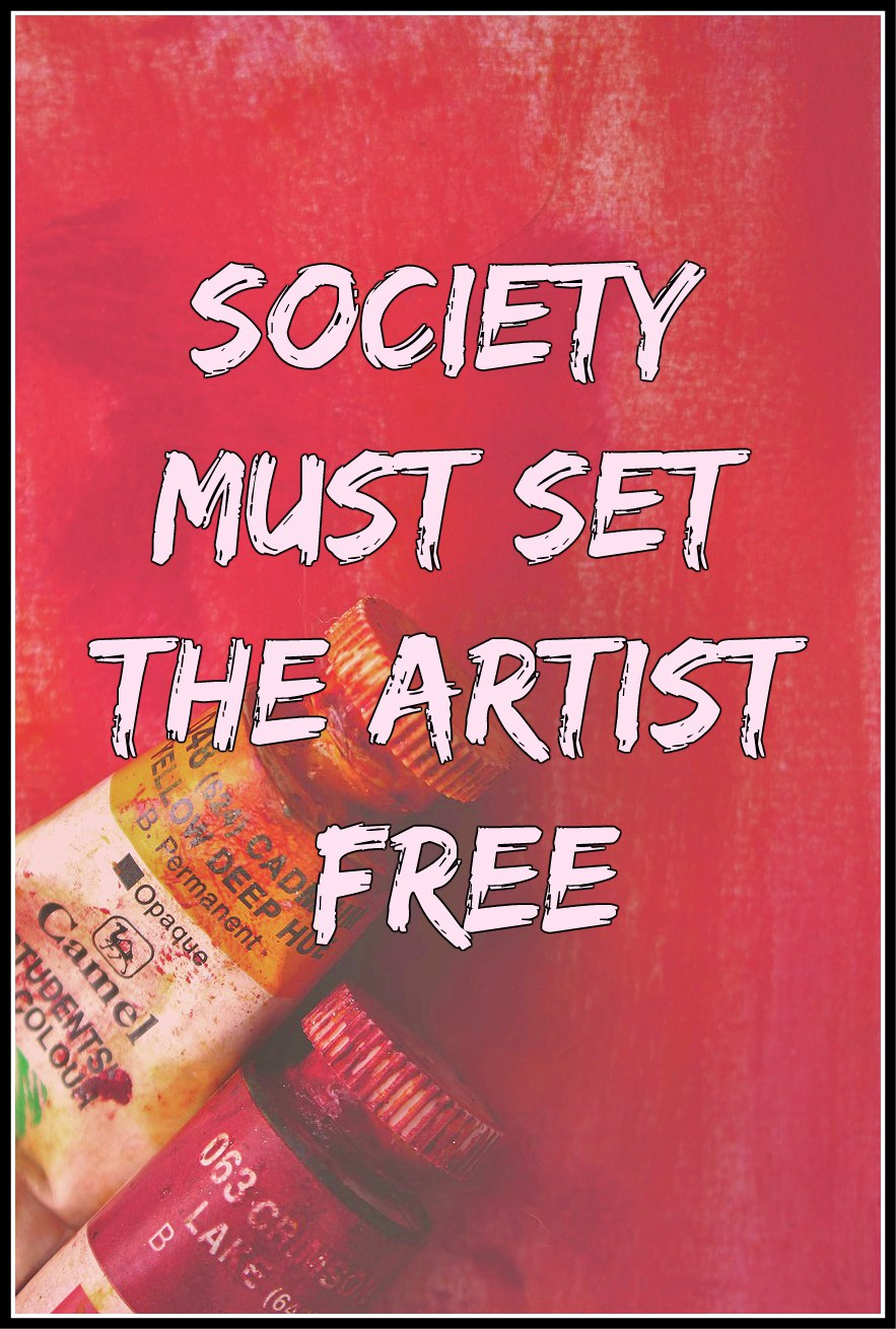 #Einstein #quote Society must set the artist free