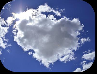 #kitsch #Herz #Wolke #himmel #liebe #bekitschig blog #berlin