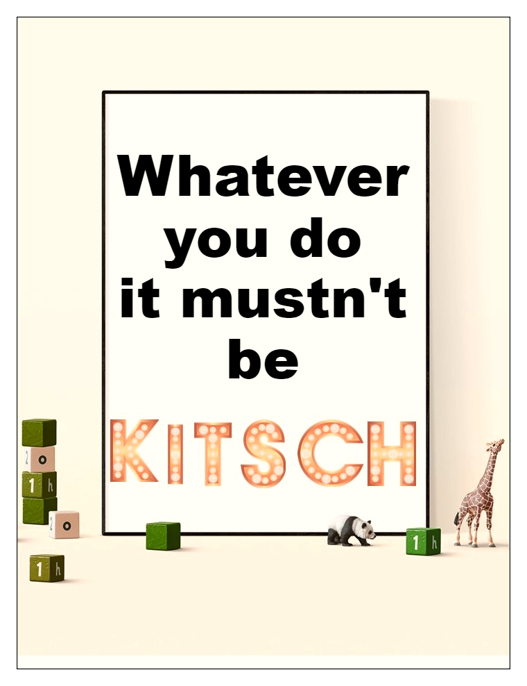 #bekitschig #scruton #quote Whatever you do it musnt be #kitsch