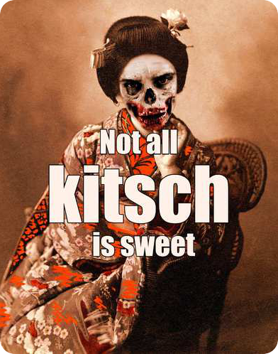 Not all kitsch is sweet. - KARSTEN HARRIES #quote be kitschig blog berlin