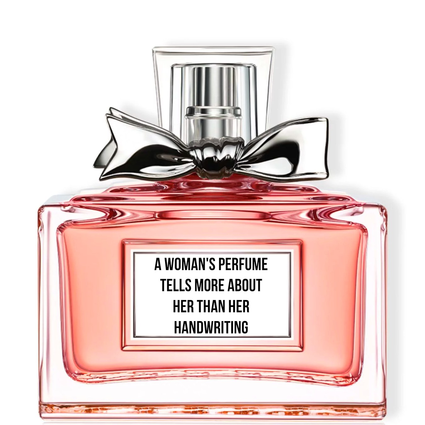 A woman's perfume tells more about her than her handwriting. Christian _#Dior #quote be kitschig blog