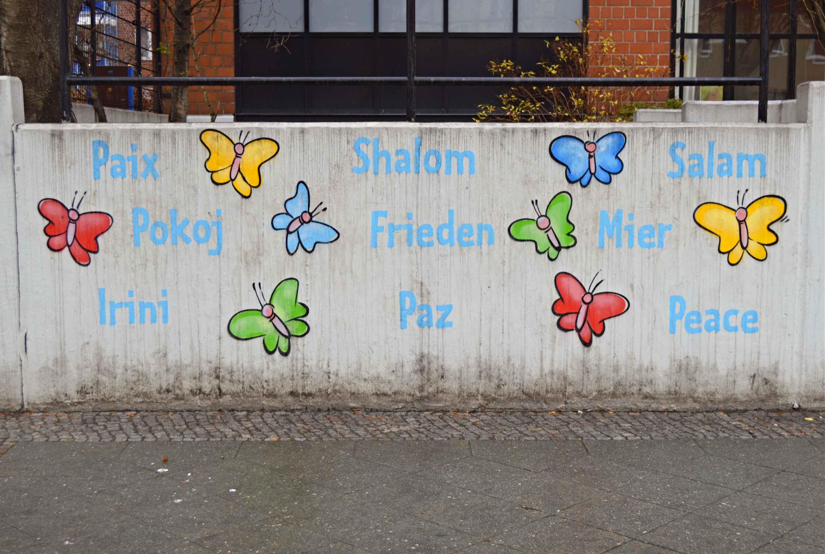 friedvolle Mauern peaceful wall