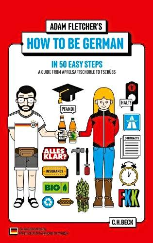 Adam Fletcher How to be German review be kitschig blog