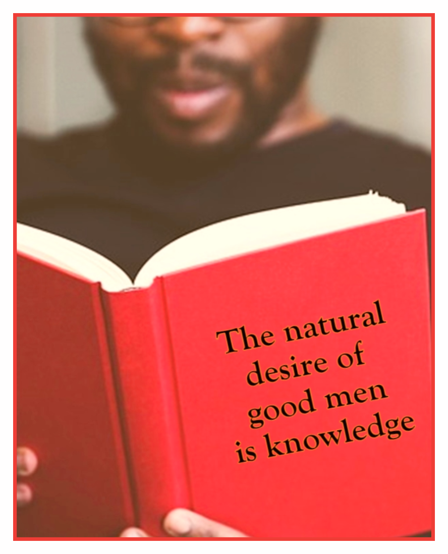 The natural desire of good men is knowledge. Leonardo da Vinci Quote