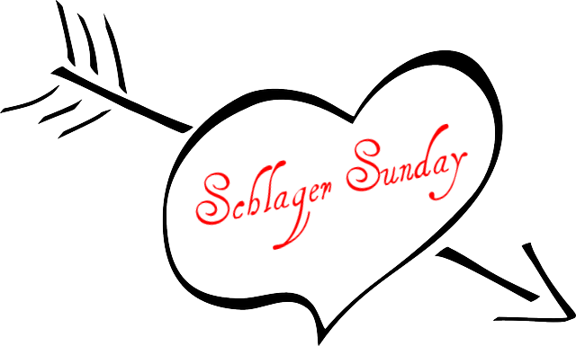 Be kitschig blog music Schlager Sunday Yesterday once more