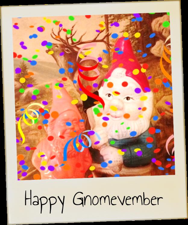 What is Gnomevember be kitschig blog berlin