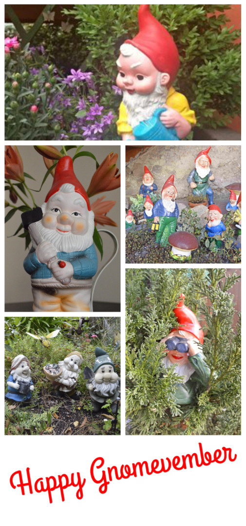 Happy Gnomevember be kitschig blog berlin gartenzwerg