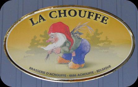 Belgisches Beer Gartenzwerg Marcel La Chouffe