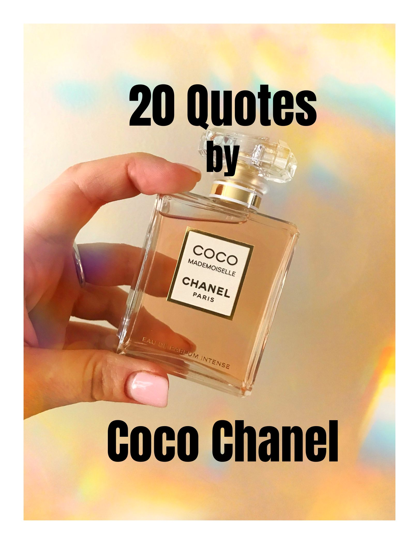 20 Quotes by Coco Chanel bekitschig.blog