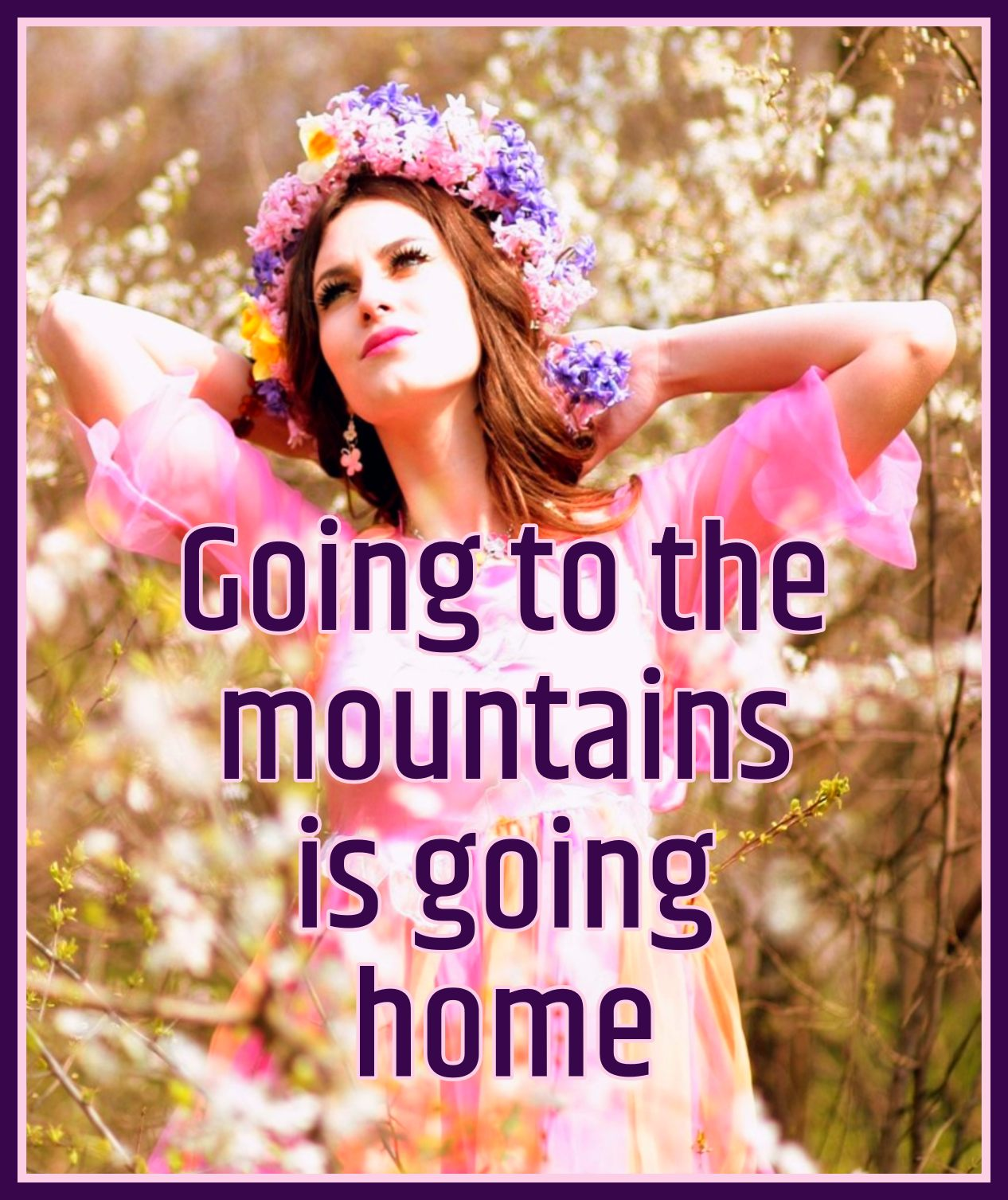 John Muir Going to the mountians is going home