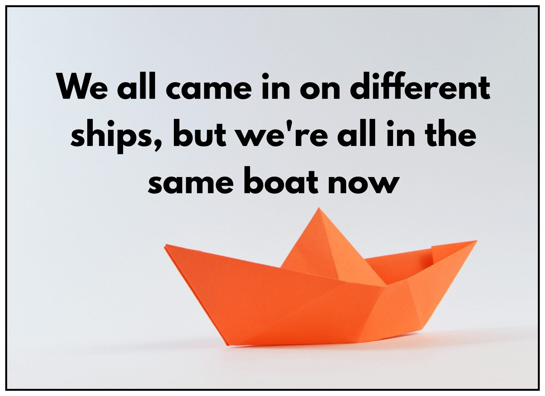 Martin Luther King Quote we all came in on different ships be kitschig blog