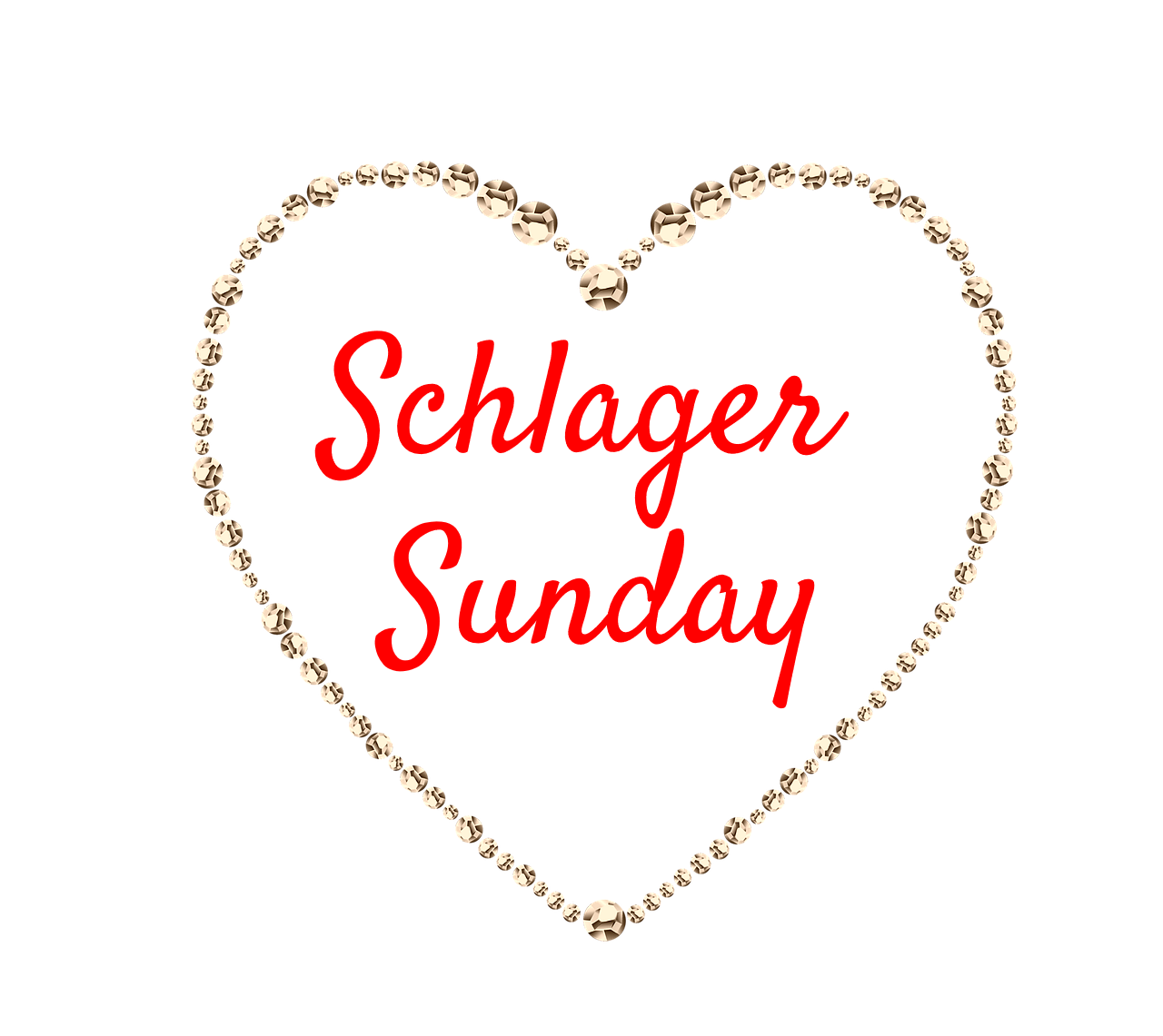 Schlager Sunday be kitschig blog Material Girl Madonna