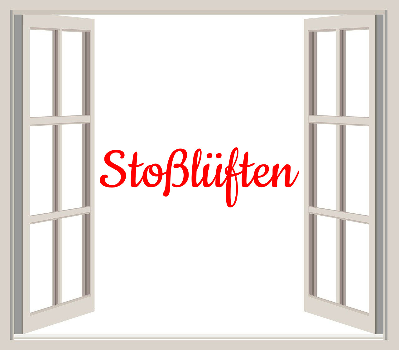 German Word of the Day Stoßlüften bekitschig blog