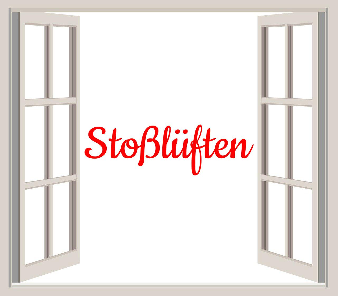German Word of the Day Stoßlüften bekitschig blog