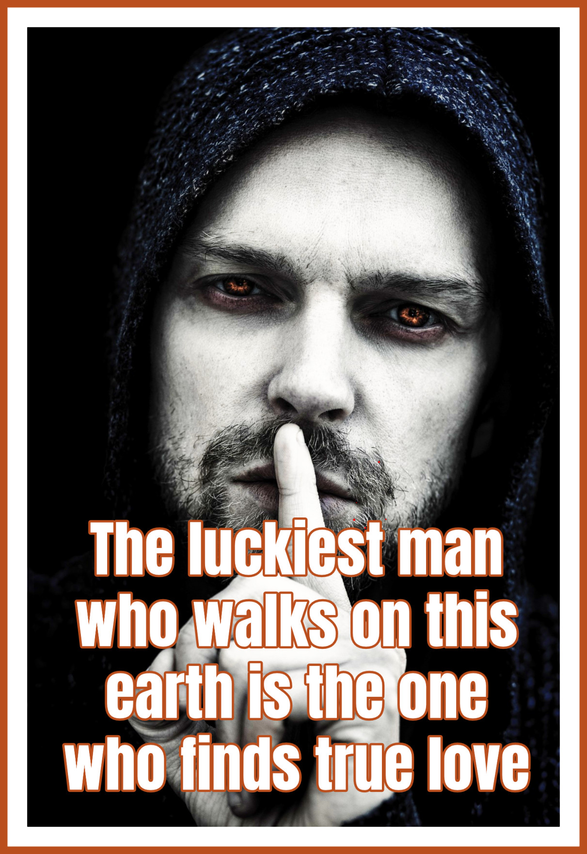Halloween Quote the luckiest man who walks on this earth is the one who finds true love bekitschig blog
