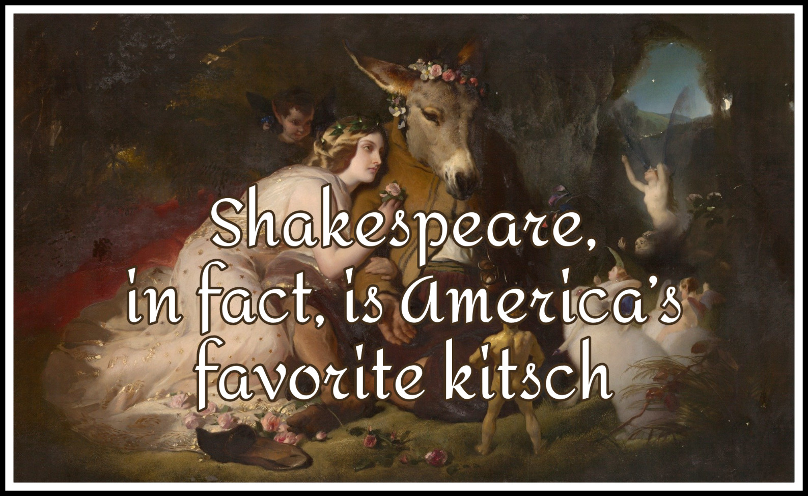 Alden T. Vaughan & Virginia Mason Vaughan: Shakespeare in Americabekitschig blog