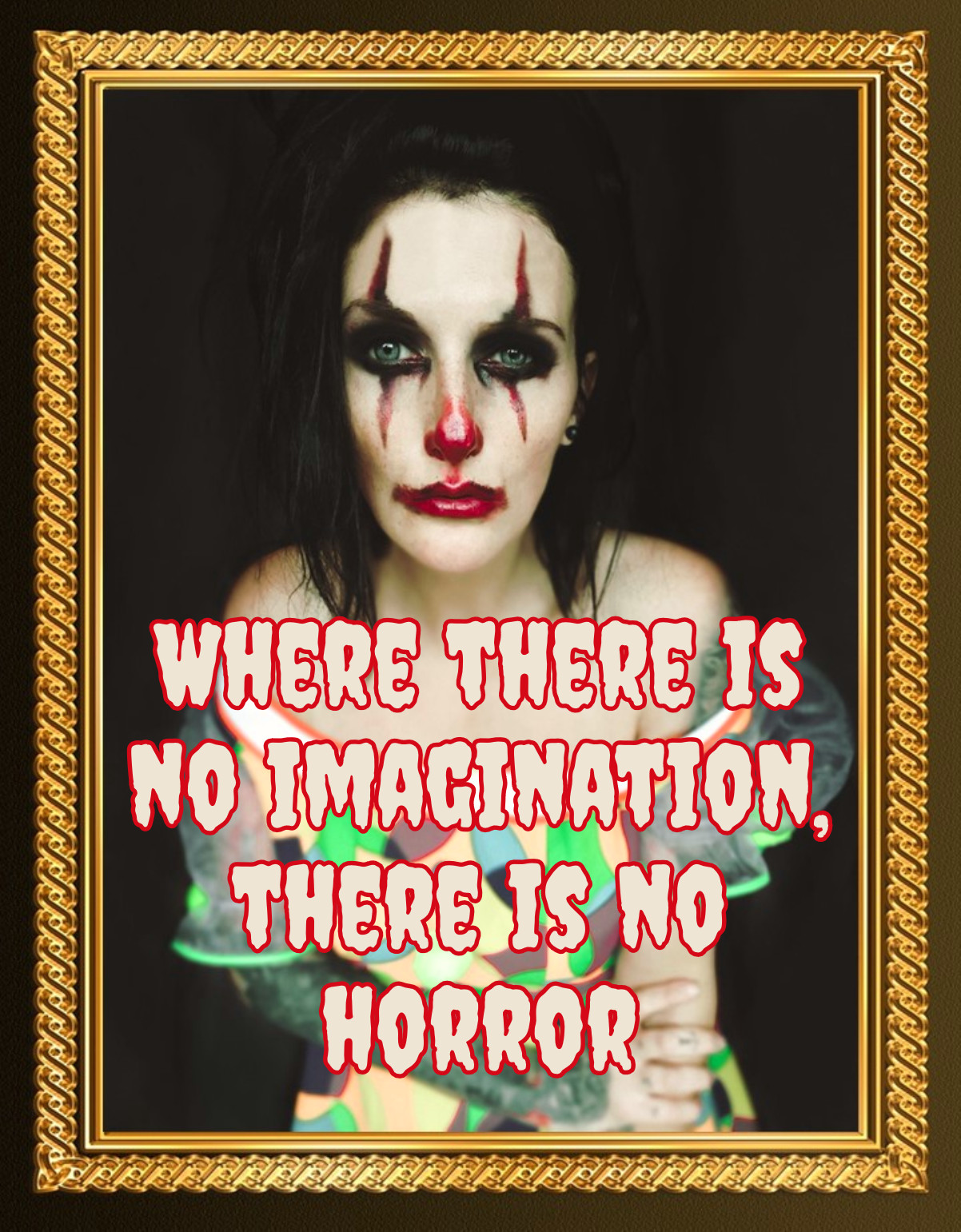 Quote Where thre is no imagination there is no horror Conan Doyle bekitschig blog