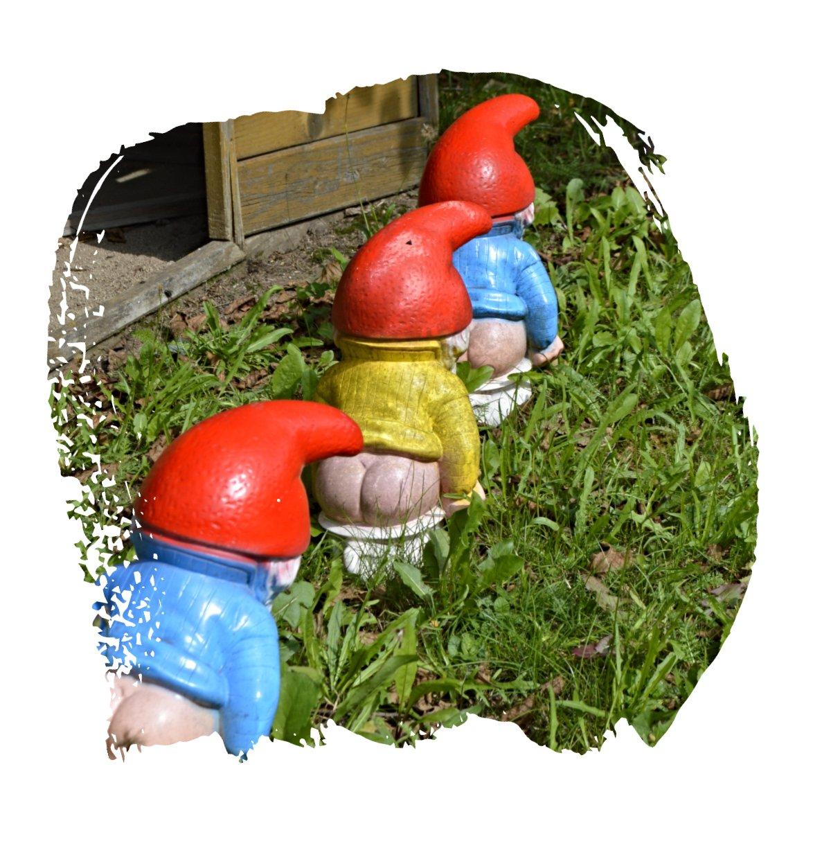 Unusual Garden Gnomes be kitschig blog Berlin Gartenzwerg