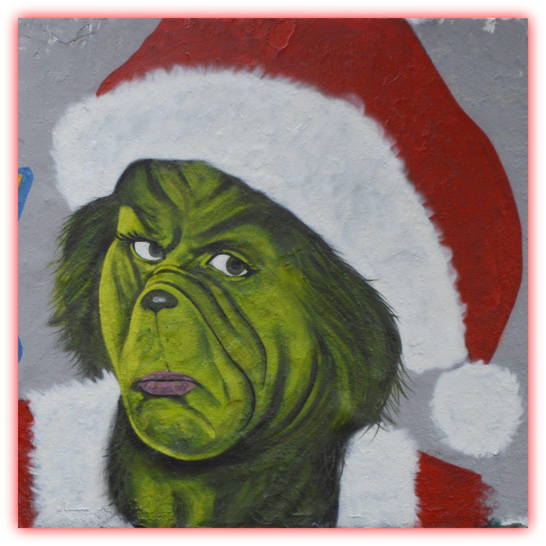 be kitschig blog Christmas street art eme freethinker mauerpark berlin