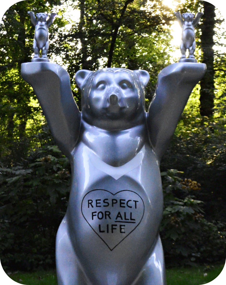 United Buddy Bears Berlin Tierpark be kitschig blog