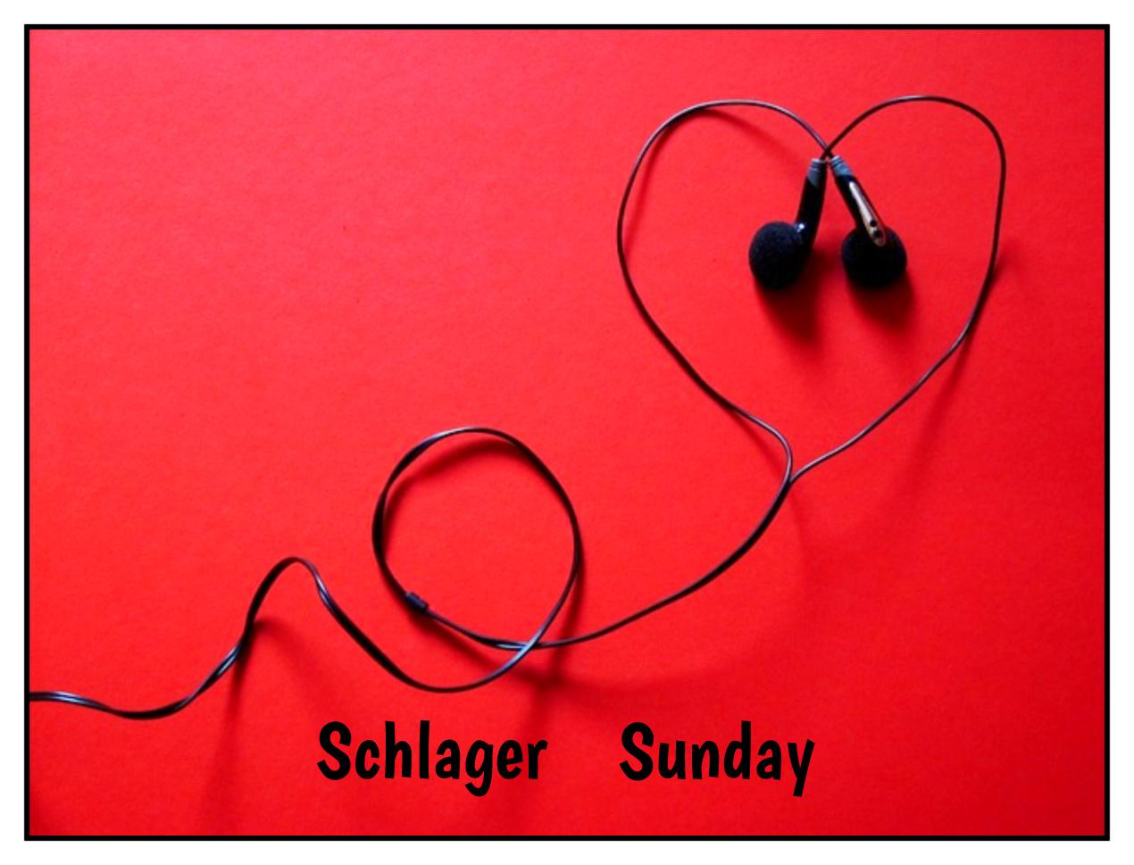 Be kitschig blog Schlager Sunday everyday is like sunday