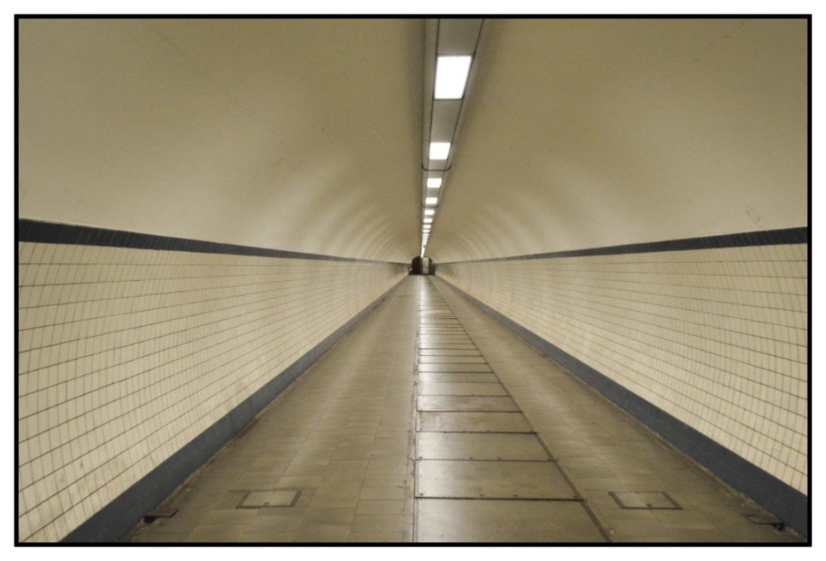 St. Anna's Tunnel The Underpass Antwerp Belgium