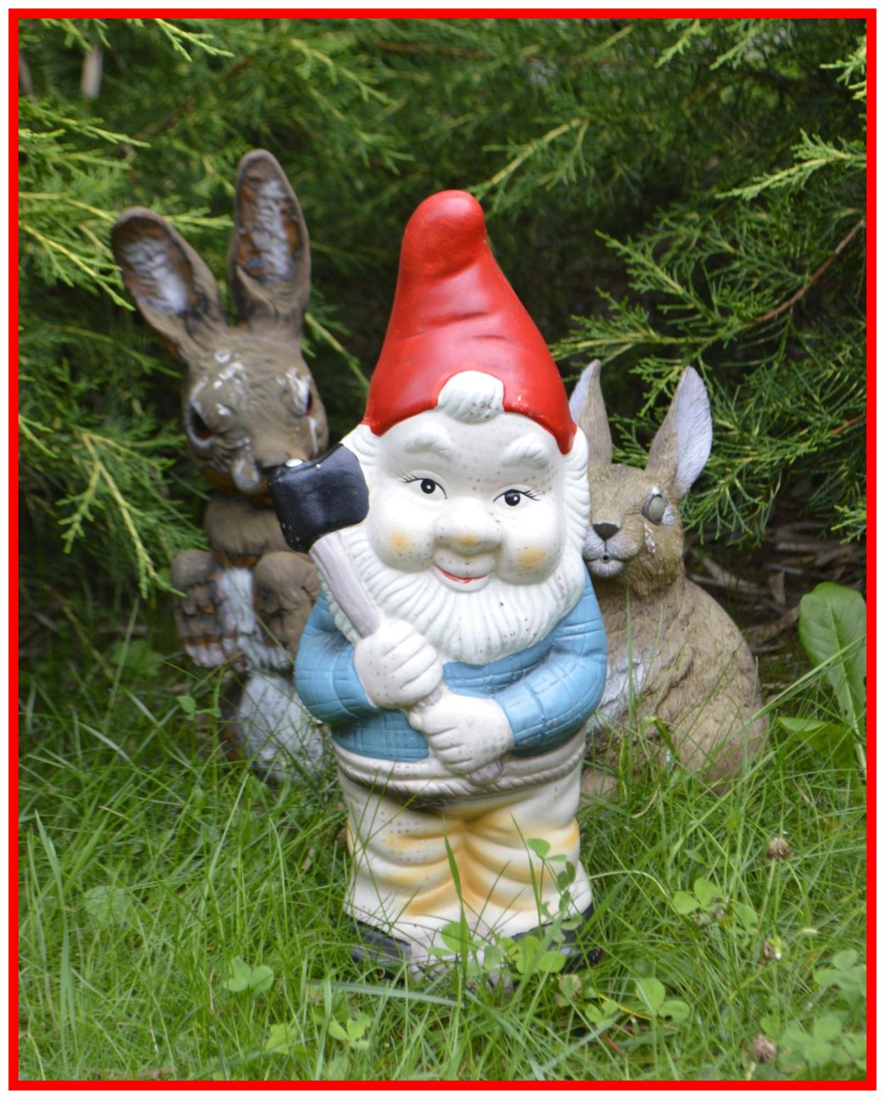bekitschig blog Garden Gnome Shortage UK Keine Gartenzwerge