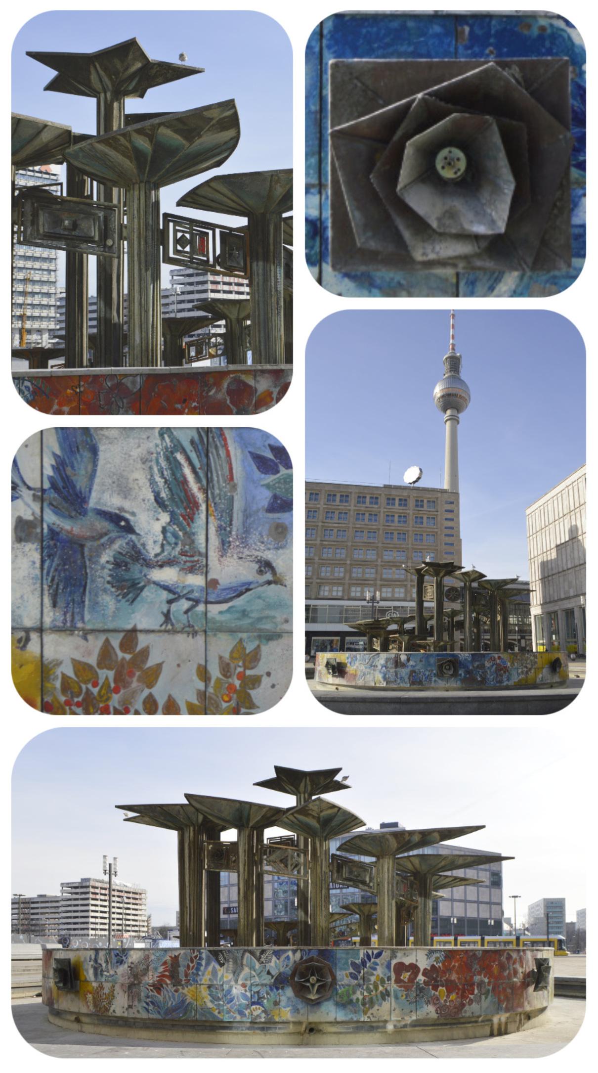 Fountain of the Friendship between Nations Berlin Alexxanderplatz be kitschig blog