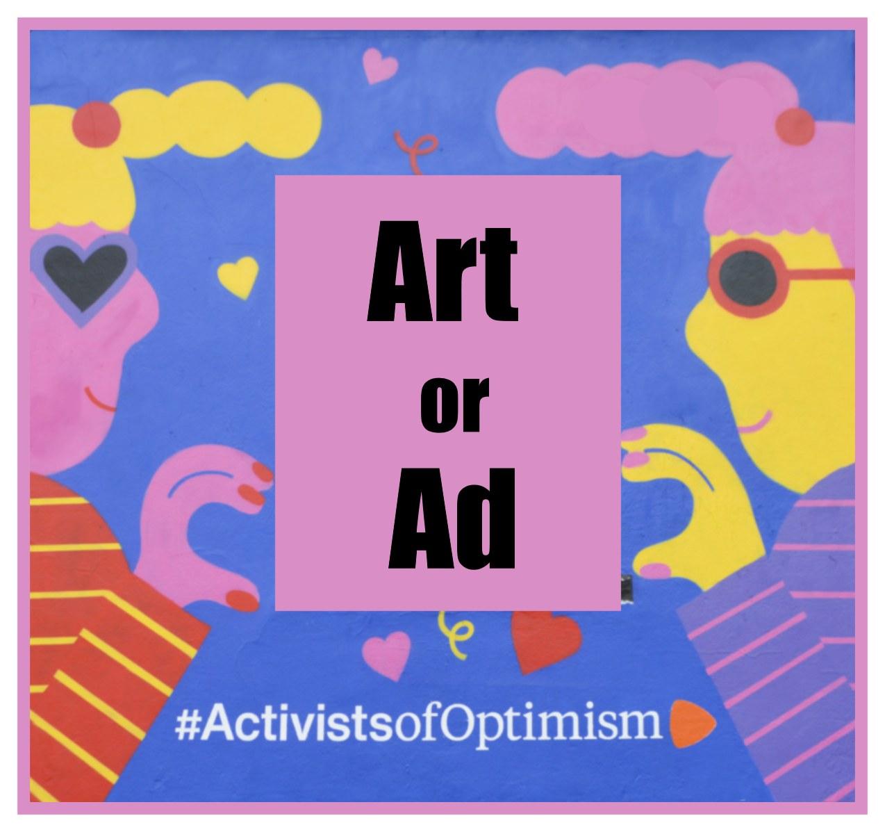 Art or ad? be kitschig blog Berlin