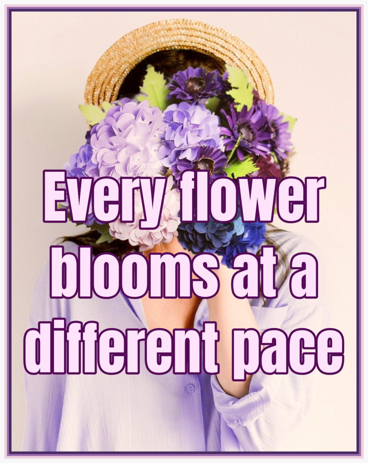 bekitschig.blog Every Flower blooms at a different pace