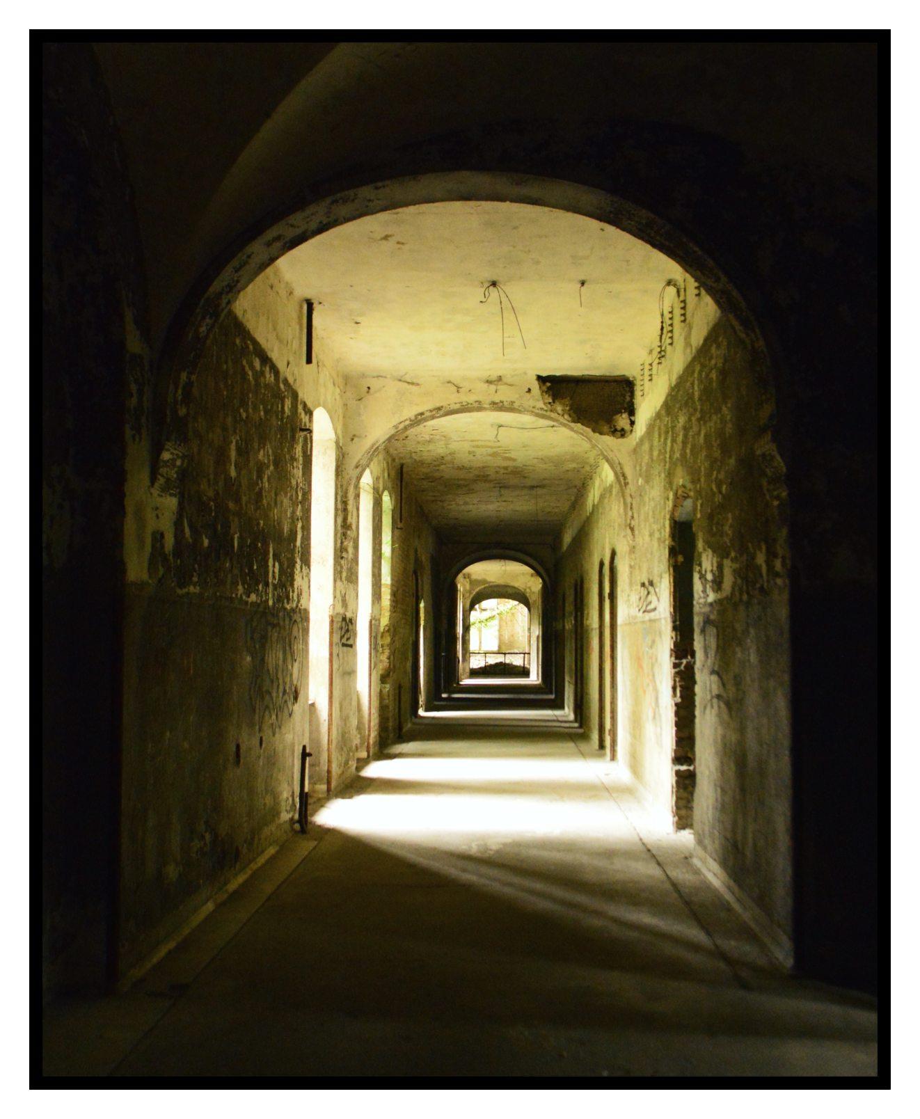 altes verfallenes Krankenhaus Beelitz bei Berlin Fotos abandoned