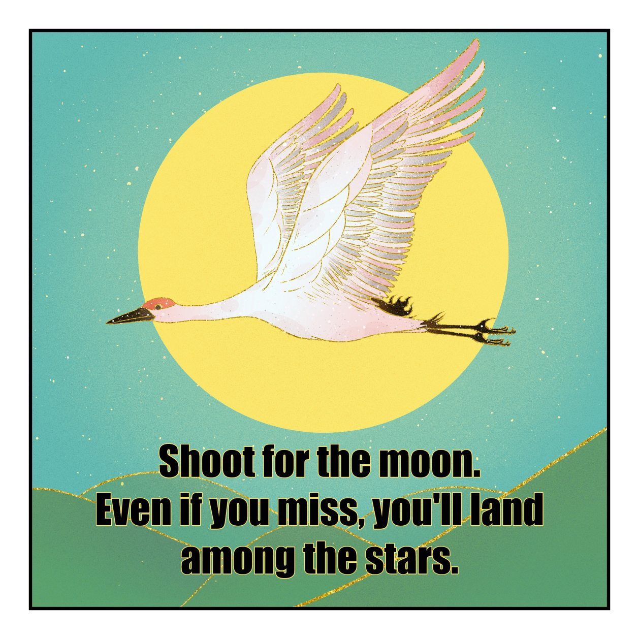 be kitschig blog Shoot for the moon. Even if you miss, you'll land among the stars. Norman Vincent Peale
